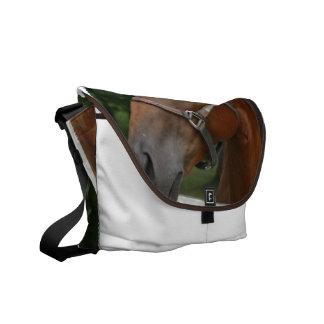 Sweet Chestnut Horse Messenger Bag