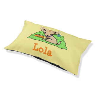 Sweet chihuahua puppy dog pet pillow bed