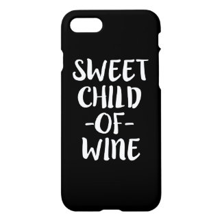 Sweet Child of Wine funny phone case