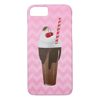 Sweet Chocolate Shake Case-Mate iPhone Case