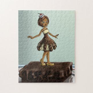 """""""Sweet Chocolate Sundae Zenobia"""" 11x14 Puzzle"""