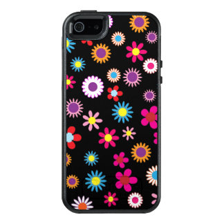 Sweet Colorful Flower and Dots Design Phone Casing OtterBox iPhone 5/5s/SE Case