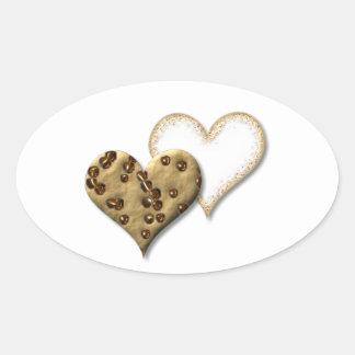 Sweet Cookie Love Oval Sticker