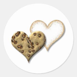 Sweet Cookie Love Round Sticker