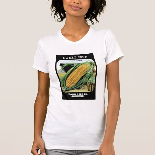 Sweet Corn Golden Bantam Card Seed Co T-Shirt