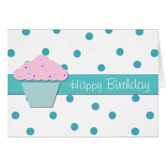 Sweet Cupcake Birthday Greeting Card