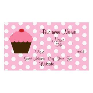 Sweet Cupcake Business Card