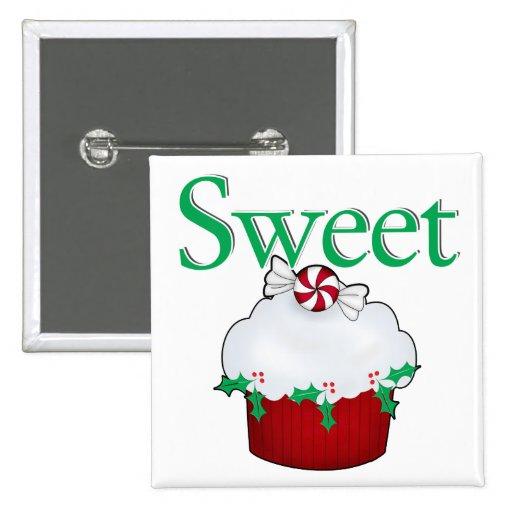 Sweet Cupcake Pinback Buttons