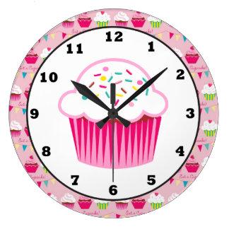 Sweet Cupcake Fun Wall clock