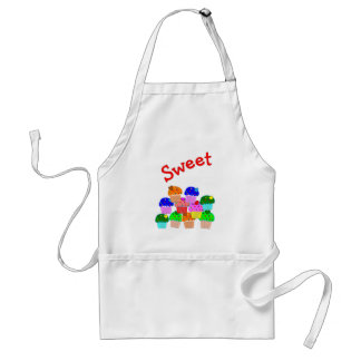 """Sweet""  Cupcake Lovers Gifts Standard Apron"