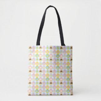 Sweet Cupcake Pattern Tote Bag