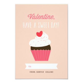 Sweet Cupcake Valentine Card