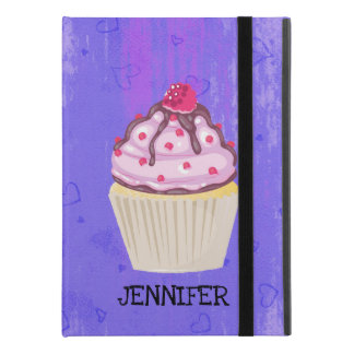 "Sweet Cupcake with Raspberry on Top Custom iPad Pro 9.7"" Case"