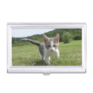 Sweet Cute Cat Business Card Cases