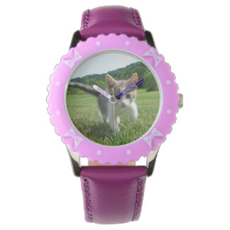 Sweet Cute Cat Watches