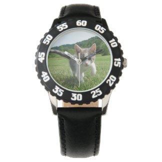 Sweet Cute Cat Wrist Watches