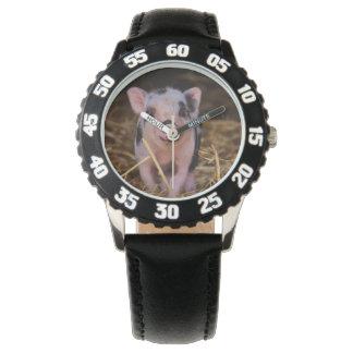 Sweet Cute Pig Wrist Watches
