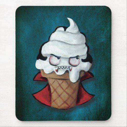 Sweet Cute Vampire Ice Cream Mousepads