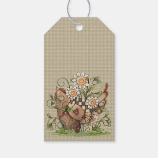 Sweet Daisy Hen Hang Tags Pack Of Gift Tags
