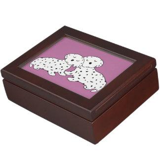 Sweet Dalmatian Dreams Keepsake Box