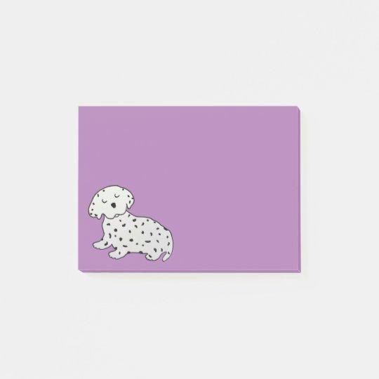 Sweet Dalmatian Dreams Post-it® Notes