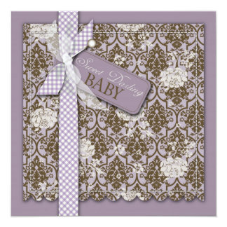 Sweet Darling Baby Square Card