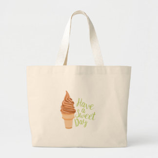 Sweet Day Large Tote Bag