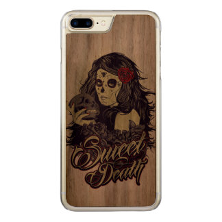 Sweet Death Apple iPhone 7 walnut wood case