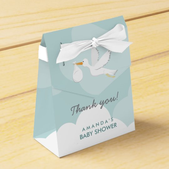 Sweet Delivery Stork Baby Shower Favour Box Wedding Favor Box