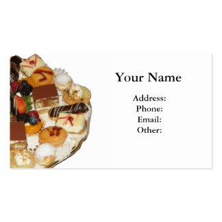 Sweet Desserts Business Card