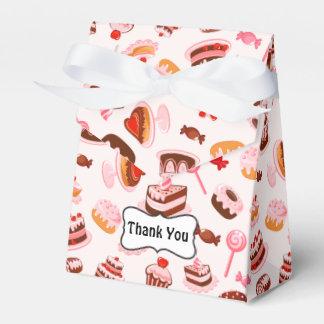 Sweet Desserts Tent Favor Box