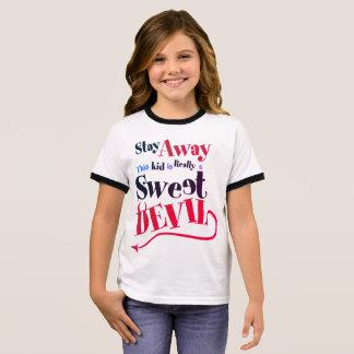 Sweet Devil Ringer T-Shirt