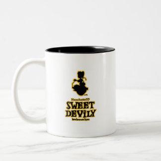 Sweet Devily Two-Tone Coffee Mug