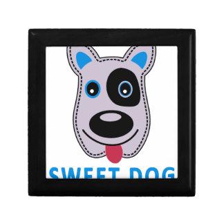 sweet dog vintage design gift box