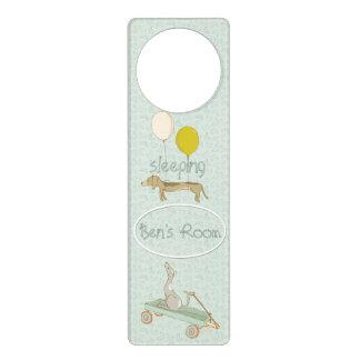 Sweet Doggy Dreams of Playtime Door Hanger