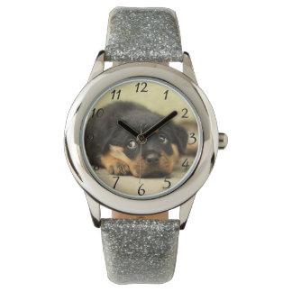 Sweet doggy wristwatch