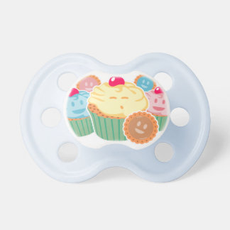 Sweet dreams are made of... cupcakes and cookies pacifier