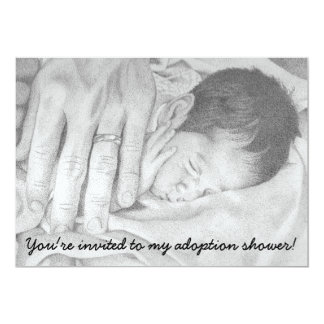 Sweet Dreams Baby, Adoption Shower Invitation
