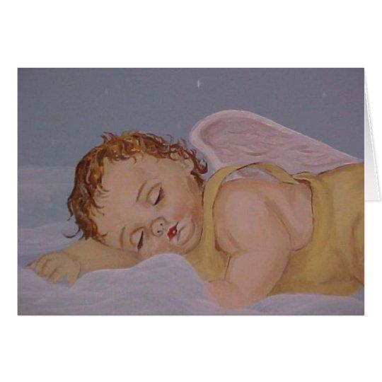 Sweet Dreams Baby Angel Card