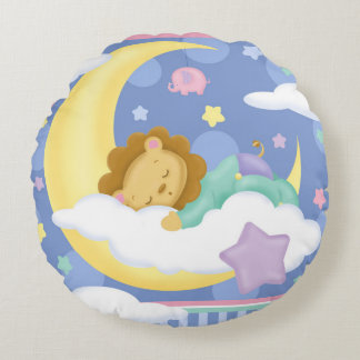 Sweet Dreams Baby Round Pillow