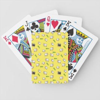 Sweet dreams bicycle playing cards