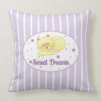 "Sweet Dreams Cotton Throw Pillow 20"" x 20"""