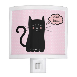Sweet Dreams Kitty Night Lights
