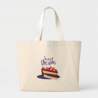 Sweet Dreams Large Tote Bag