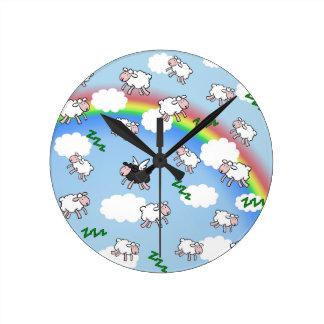 Sweet dreams round clock