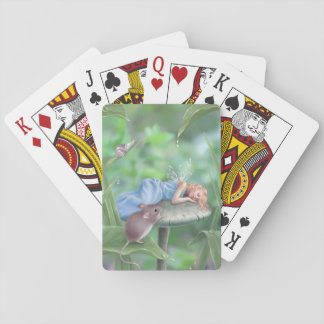Sweet Dreams Sleeping Fairy Classic Playing Cards