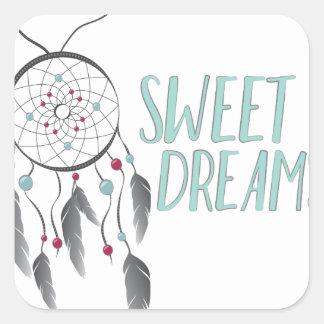 Sweet Dreams Square Sticker