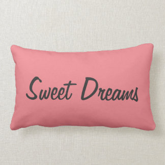 """Sweet Dreams"" Throw Pillow"