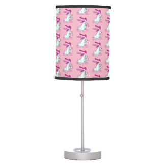 sweet duck ok sign cartoon table lamp