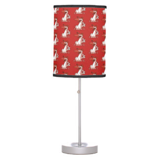 sweet duck ok sign cartoon table lamp